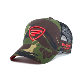 red logo/camo tracker cap